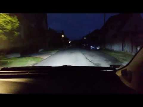 NSSC LED 3S H4 XHP50 CREE CHIP test 1