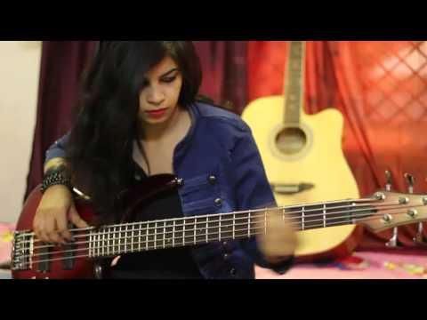 """ye tumhari meri baatein"" song bass line cover by NEHA SINGH"