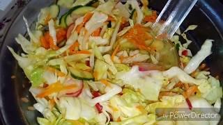 Салат витаминный . тёрка шинковка Мандолина tupperware
