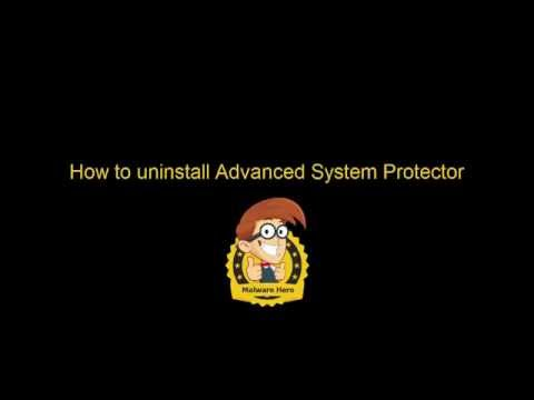 Remove Advanced System Protector (Manual Removal  Guide)