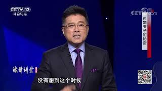 《法律讲堂(生活版)》 20200327 再婚妻子的秘密  CCTV社会与法