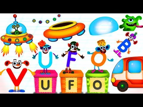 Learn Alphabet ABC, Animals for Kids - Super ABC by Bini Bambini | Funny Learning Games | Video HD