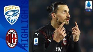 Brescia 0-1 Milan | Rebic-gol firma una  vittoria preziosa! | Serie A TIM