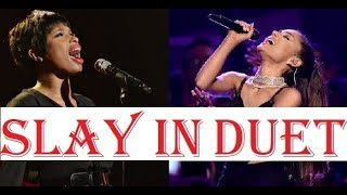 WHEN TWO SINGERS SLAY HIGH NOTES TOGETHER!!! thumbnail