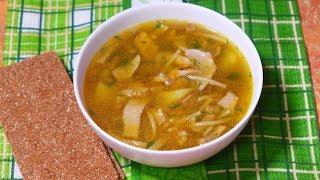 Грибной суп для мужа