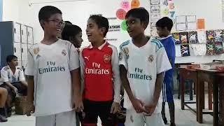 Me,Meeshan and Naishaan singing world Cup song 2018