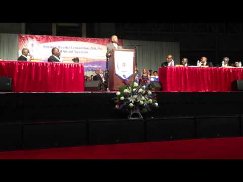 Rev. Al Sharpton speaks at National Baptist Convention, USA