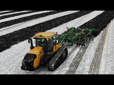 A Long Day of Farming in the Snow