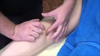 Смотреть видео массаж икроножной мышцы видео