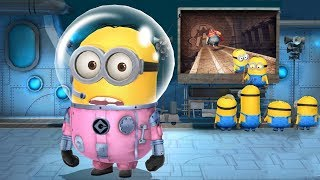 despicable me minion rush astronaut minion vs el macho boss battle - Minion Rush Christmas
