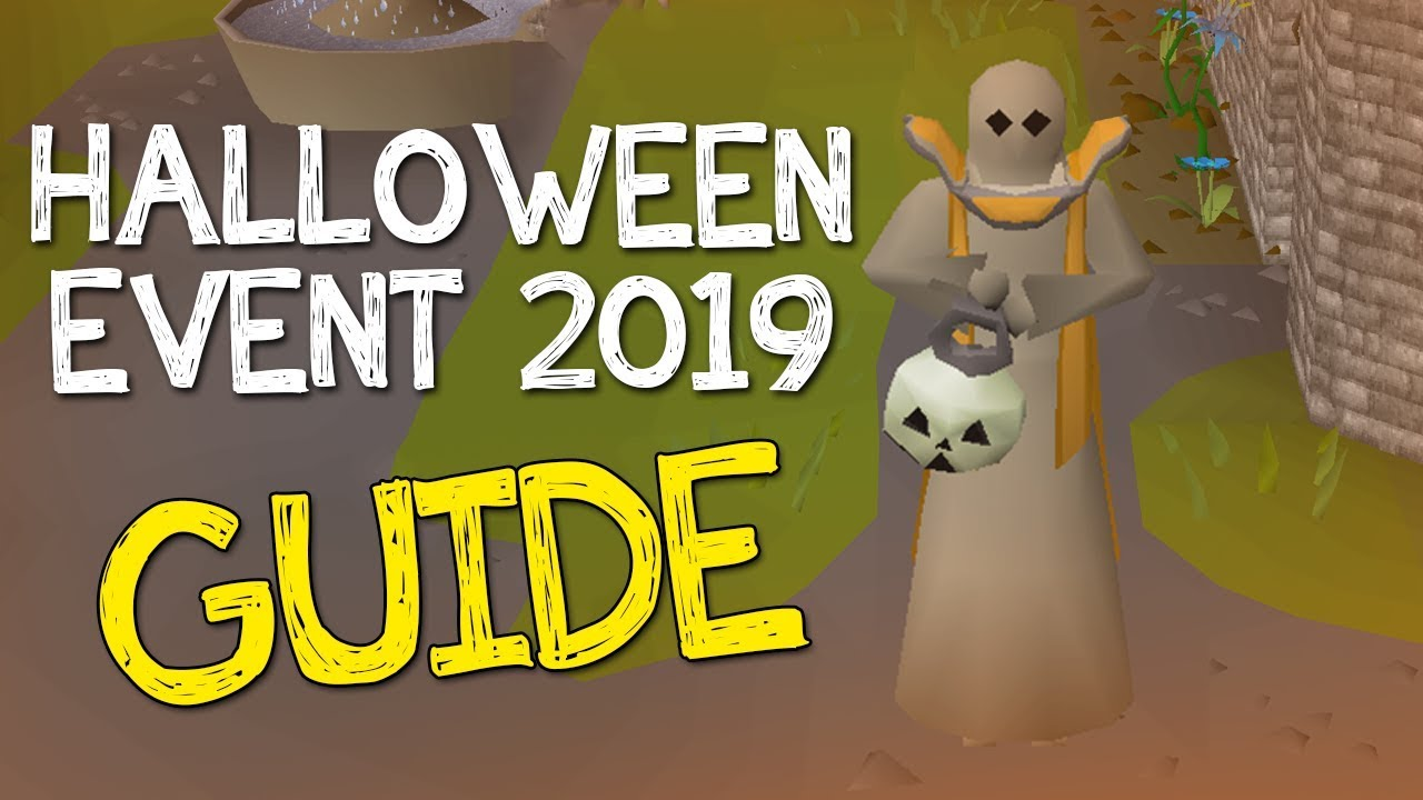Halloween Quest 2020 Osrs OSRS Halloween Event 2019 Guide   YouTube