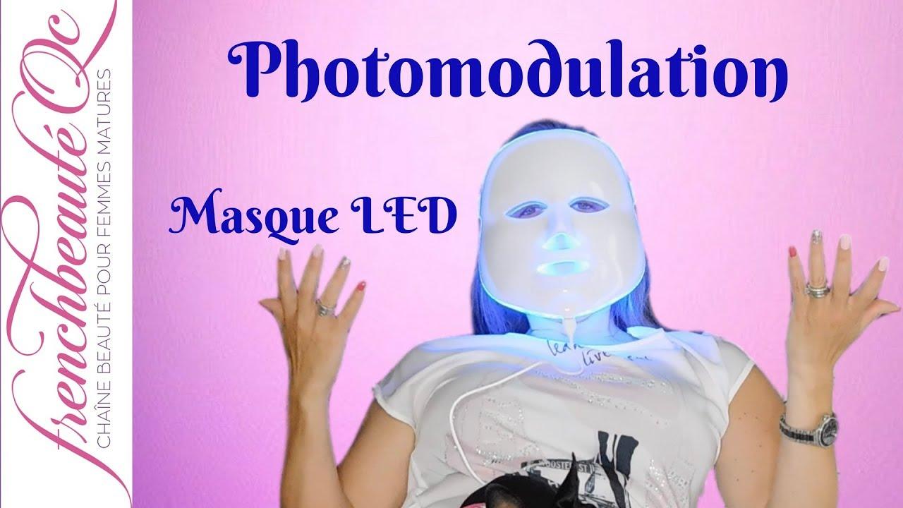 masque luminotherapie anti age
