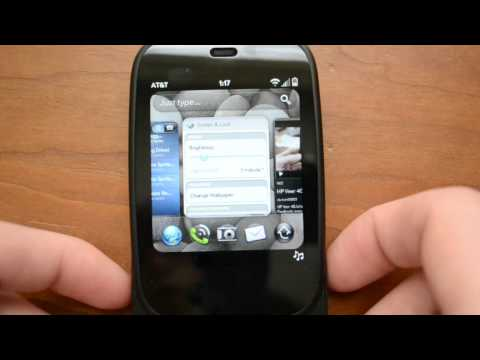 webOS 2.1 on the HP Veer 4G