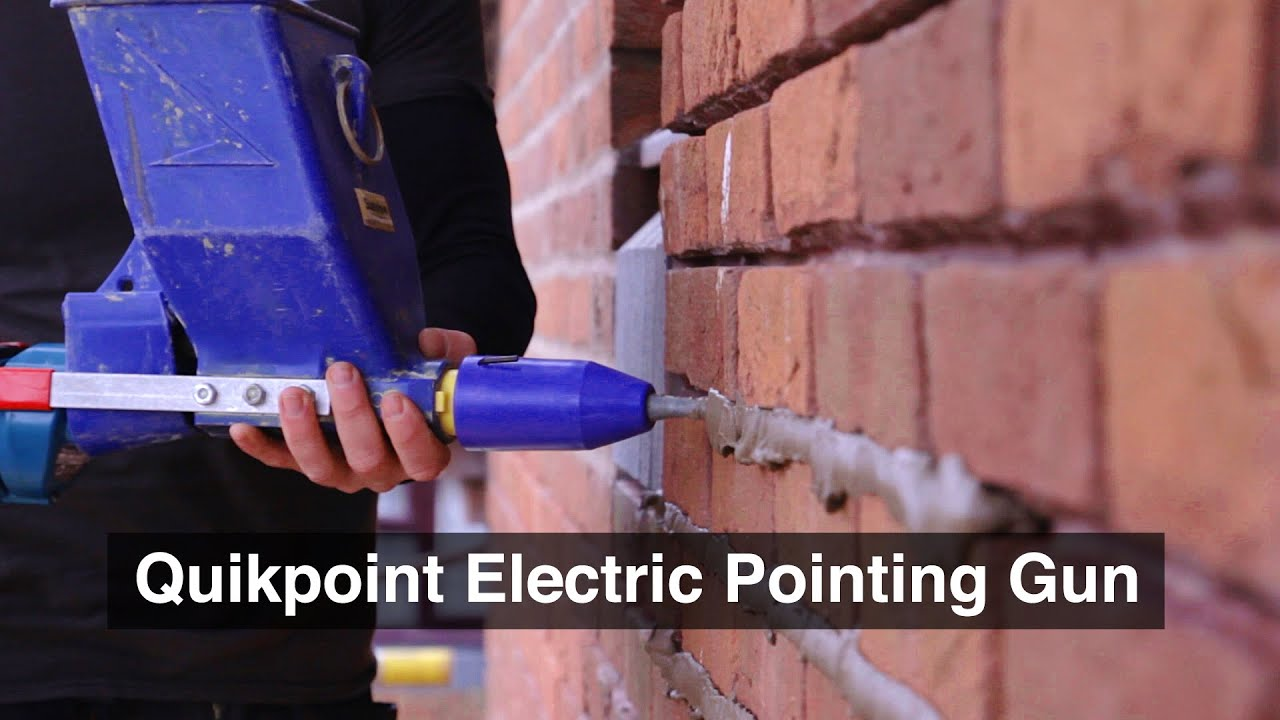 Quikpoint Electric Mortar Pointing Gun Youtube