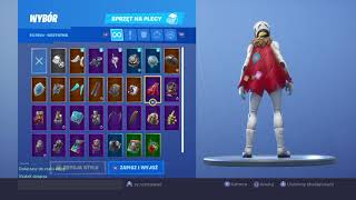 My cupboard Battle Royale skins and Lotnie Fortnite and Robson Test Game