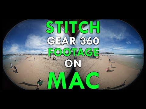 How To Stitch Gear 360 Footage (2016 + 2017) On Mac
