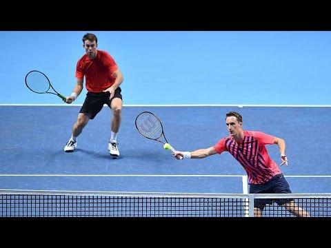 Kontinen/Peers Defeat Lopez/Lopez London Highlights - YouTube