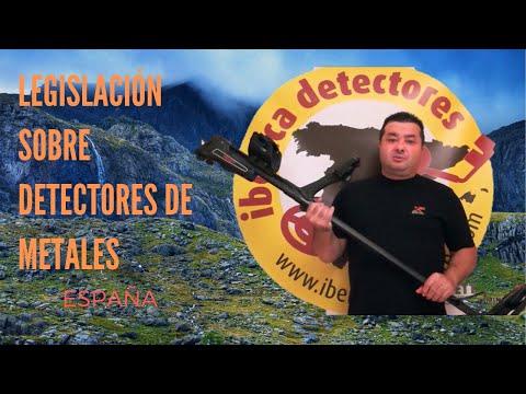 Normativa sobre detectores de metales España