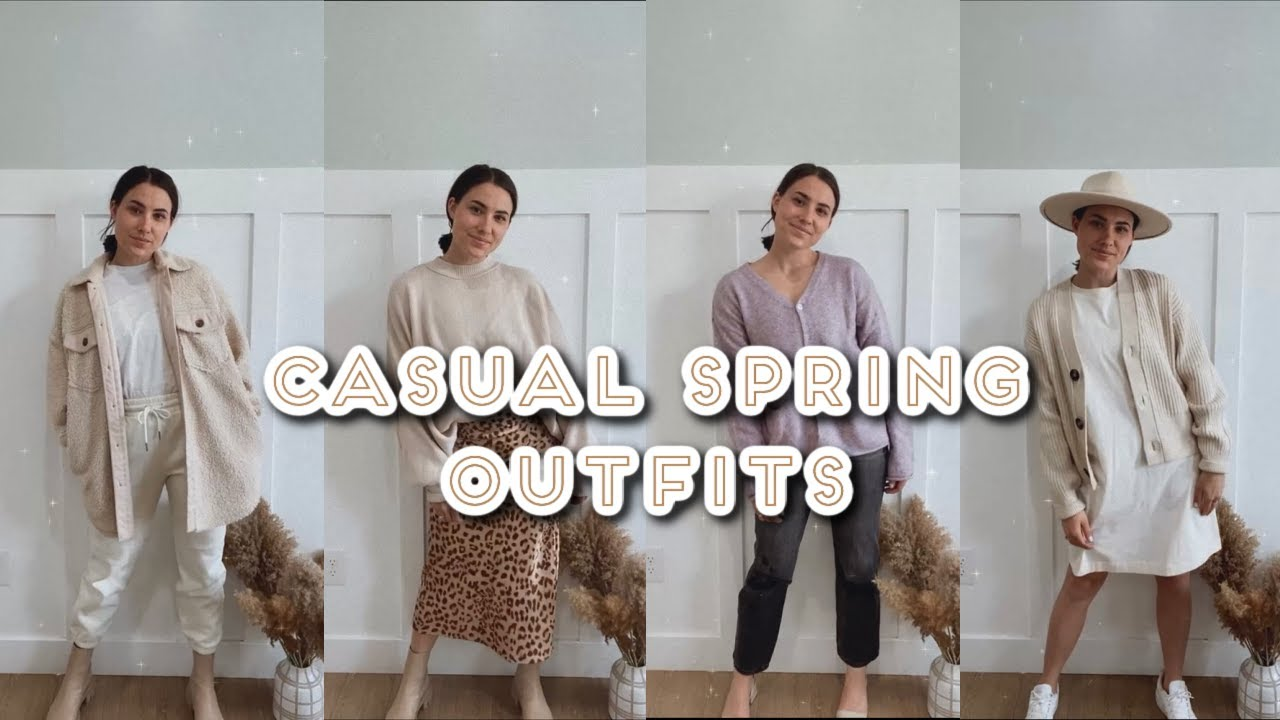 14 Modest Casual Spring Outfits! Cute Outfit Ideas Spring 2021!