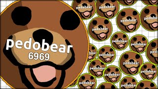 FUNNY TROLLING AND SPAWN CAMPING PEOPLE IN AGARIO AS PEDOBEAR (MOST ADDICTIVE GAME - AGAR.IO #35)