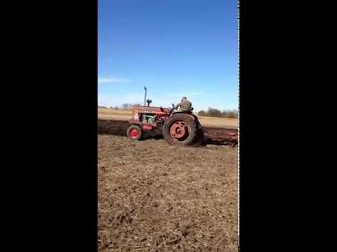 3-53 in 504 Farmall Plowing