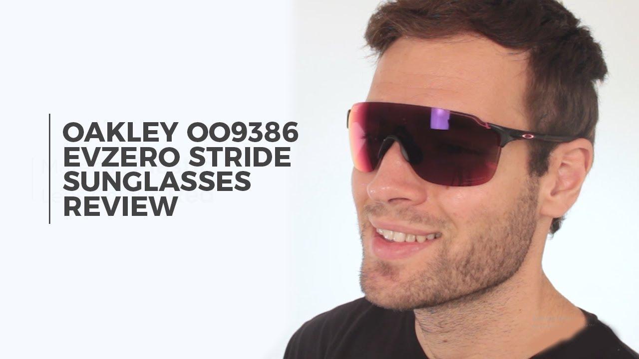 0cff7c0acbf0 Oakley OO9386 EVZERO STRIDE Sunglasses Review