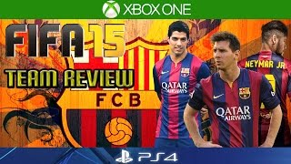 FIFA 15   HOW TO PLAY WITH BARCELONA   Team Reviews   Formation/Key Players/Gameplay