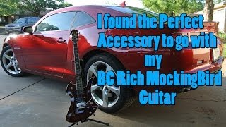 2013 Camaro SS The Perfect Accessory for my BC Rich MockingBird