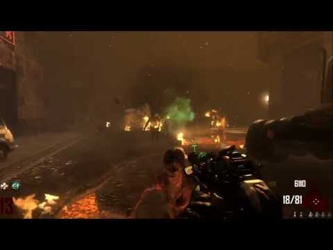 Ray Gun Mark 2 UPGRADED/PACK A PUNCH Gameplay Black Ops 2 Zombies