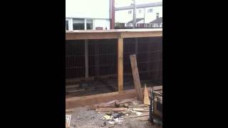 Dog Kennel Made With Used Pallets