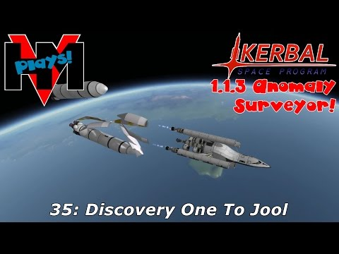 HMV Plays KSP 1.1.3 Anomaly Surveyor! 35: Discovery One To Jool