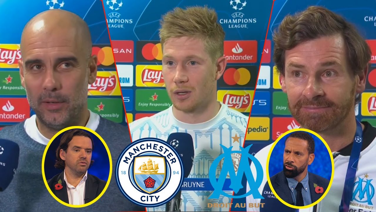 Marseille vs Man Ciy 0-3 Kevin De Bruyne And Pep Guardiola Reaction Rio Ferdinand Analysis