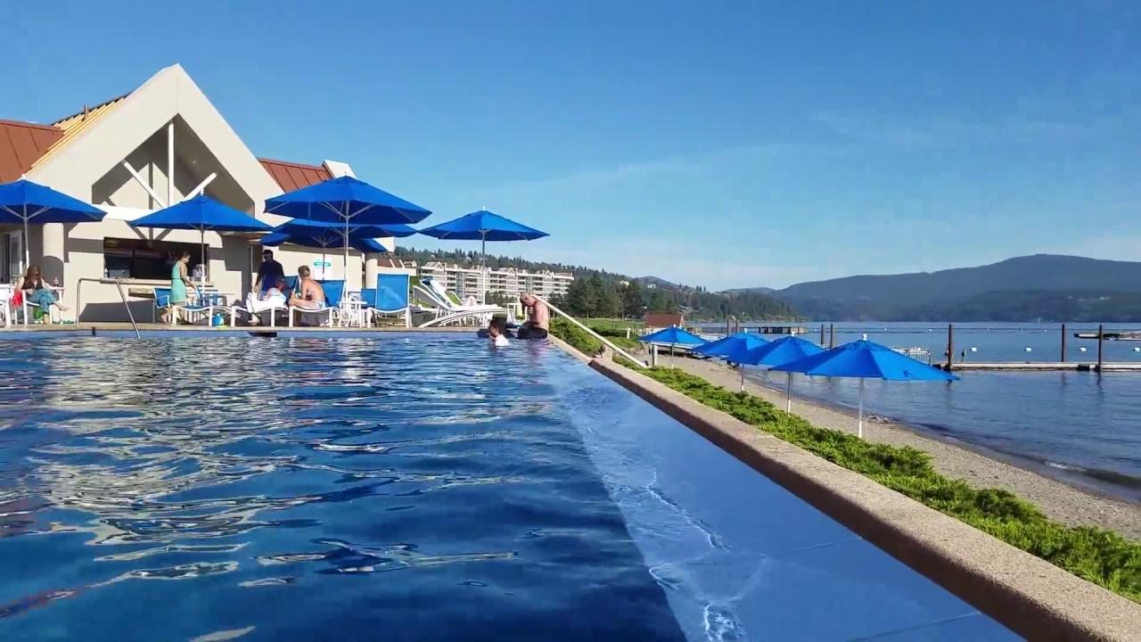 Coeur d'Alene Resort Infinity Pool. - YouTube