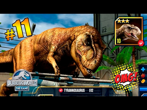 TYRANNOSAURUS Vs TYRANNOSAURUS!!! NUEVO EVENTO VIP!! Jurassic World™: The Game PARTE 11