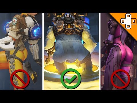 Winston Booty = Best Booty, Confirmed - Overwatch Funny & Epic Moments thumbnail