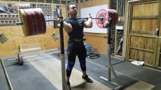 D'Angelo Osorio 250kg/551lb Front Squat