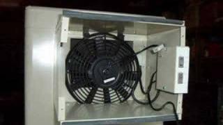 Solar Air Conditioner - Solar Evaporative Cooler