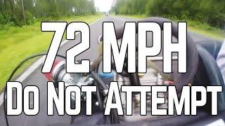 Vintage Racing Kart Hits 70+ MPH