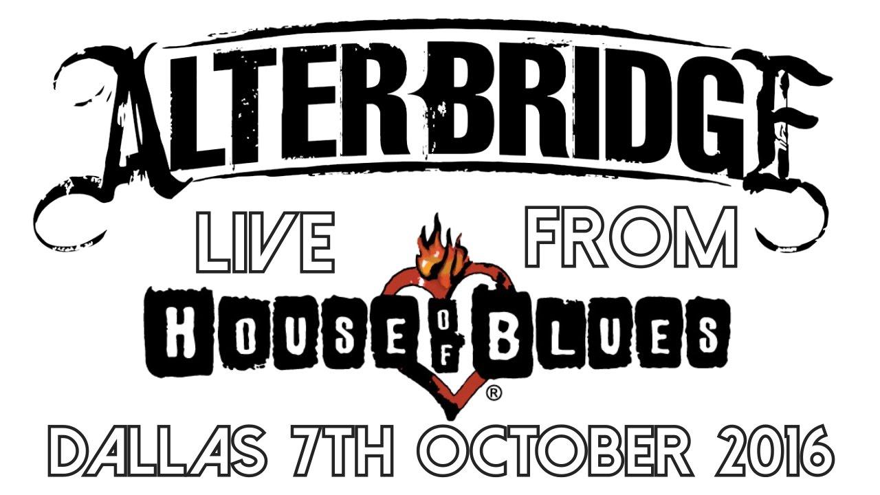 alterbridge the last hero live house of blues dallas 2016 full