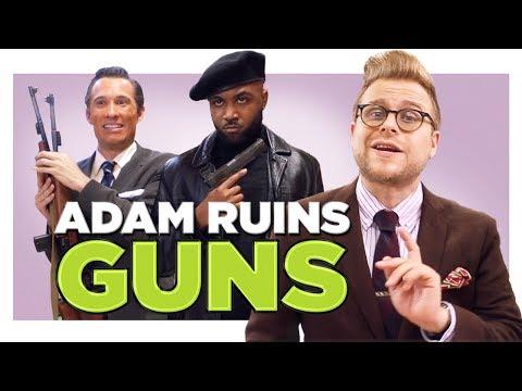 Everyone Leaves Black People Out of the Gun Debate | Adam Ruins Everything