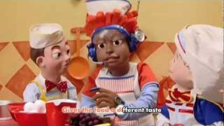 Watch Lazytown Cooking By The Book video