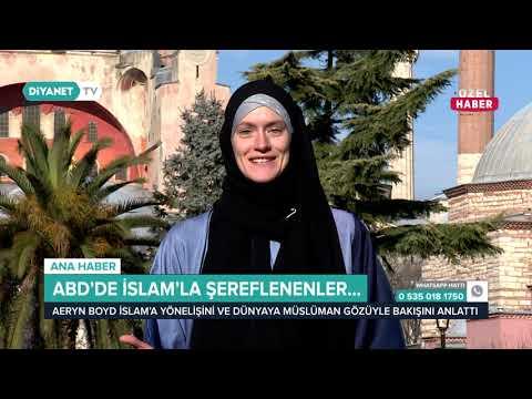 Müslüman Olan ABD'liler Hikayelerini Diyanet TV'ye Anlattı