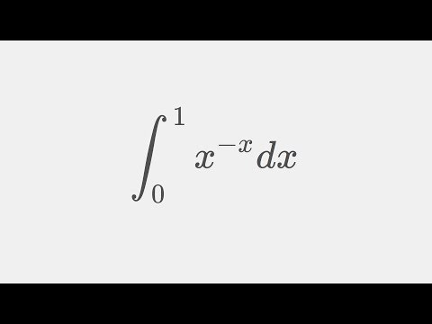 Integrating the boi of your Putnam dreams ( Sophomore's dream: Integral x^-x from 0 to 1 )