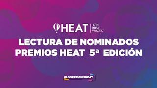 Lectura nominados Premios HEAT 5ª edición