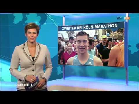 Köln-Marathon 2014 mit Marcel Bräutigam - MDR Aktuell Sportnachrichten - 14.09.2014