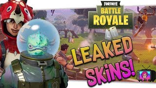 "🐟 New ""Leaked Skins Fortnite"" AND MORE! FF#1"