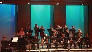 """After Sunset"" (Larry Neeck):  RUHS Jazz Band B"