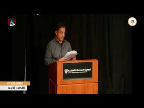 Kamal Haasan key note speech at Harvard University | Kamal Haasan | India Conference 2018