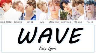 ATEEZ - WAVE Easy Lyrics by GOMAWO [Indo Sub]