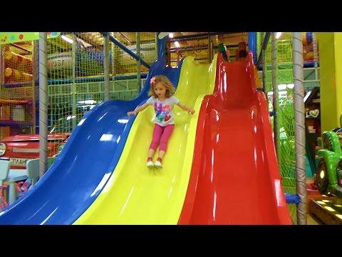 Развлечения для детей Детская игровая комната. Entertainment for children Childrens playroom